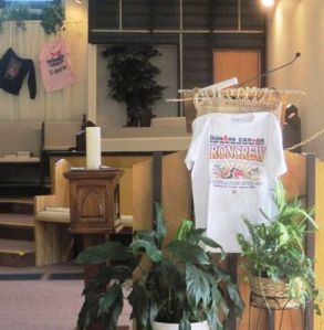 August 25, 2012 - Ironman Sunday at church 003